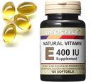LIFE STYLE(ライフスタイル) ビタミンE400IU 100粒入[ソフトカプセル][エープライム][サプリメント][Vitamin E][07151…