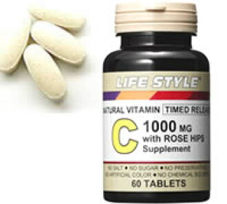 ▼P up to 36 times & coupon festival! With ▼ LIFE STYLE (lifestyle) Rose hips vitamins C1000 60 until 8/10 1:59 [tablet]; [エープライム] [supplement] [0715124033208]