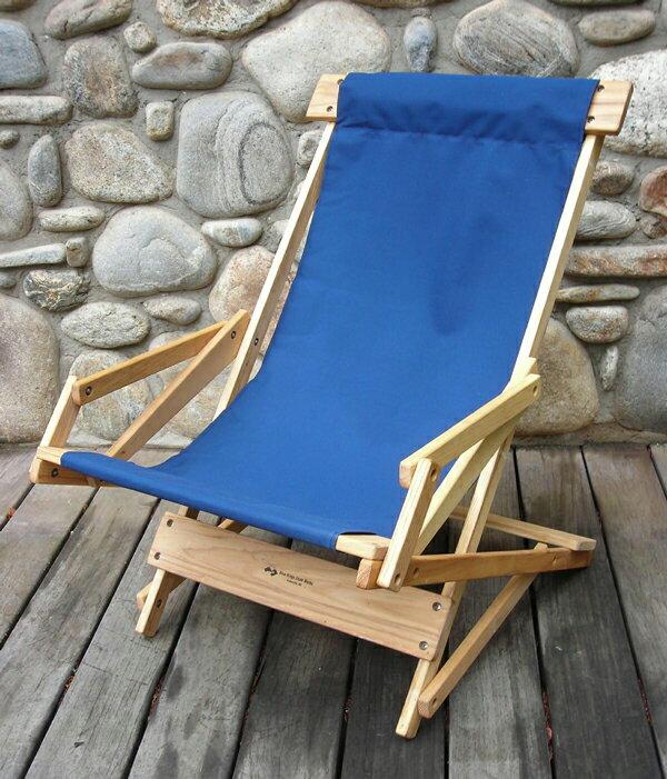 【送料無料】Blue Ridge Chair Works(ブルーリッジチェアワークス)スリングリクライナー ネイビー [SRCH03WN](アウトドア キャンプ チェア 椅子 いす イス 折りたたみ 折り畳み キャンプ用品)