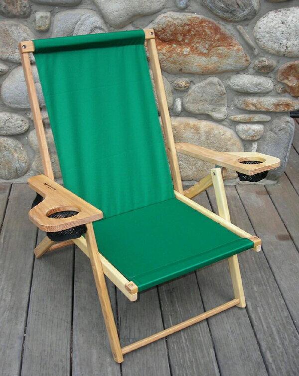 Blue Ridge Chair Works(ブルーリッジチェアワークス)アウターバンクスチェア フォレストグリーン[NFCH06WF]【MK】(アウトドア キャンプ チェア 椅子 いす イス 折りたたみ 折り畳み キャンプ用品)