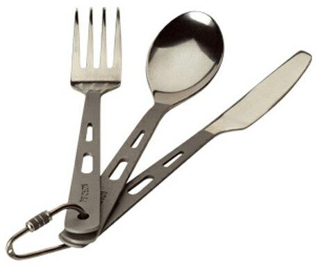 【国内正規品】NORDISK カラトリー3点セット Titan Cutlery 3pc Set(チタン製カトラリー3点セット)フォーク・スプーン・ナイフセット[119021](ノルディスク アウトドア キャンプ用品 COOKWEARE fork spoon knife アウ【kenko1710】