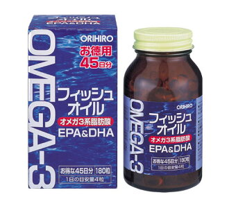 Fish oil OMEGA-3 (180) ORIHIRO regular article
