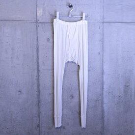 【金伴繊維】シルク レギンス メンズ【メール便可】【送料無料】絹100% 男性用 紳士 ステテコ インナー 下着 ロングパンツ 快適 10分丈 ズボン下 あったか 冷え 防寒 タイツ Mサイズ Lサイズ