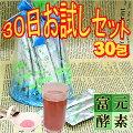 ボイセンベリー粉末30包【富元酵素】お試しセット【酵素科学研究所】