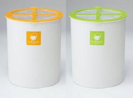 家庭用生ごみ処理機 ル・カエル基本セット 電気不要 室内型家庭用生ゴミ処理機 1〜3人家族用 生ゴミ処理機