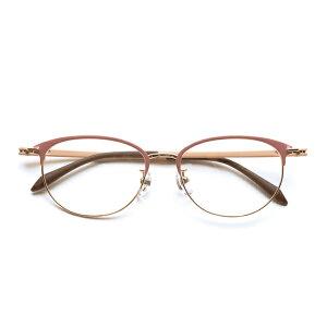 ピントグラス(視力補正用メガネ ピンク PG-709-PK)累進多焦点レンズ型老眼鏡(エレガントピンク:女性用)。末永く、よく見える。