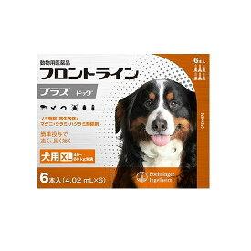 【医薬品 犬用】フロントラインプラス ドッグ XL [40〜60kg未満] 6本入