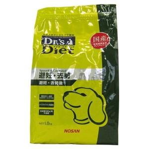 [準療法食 犬用] Dr'sDiet 犬用 被毛管理 1.8kg