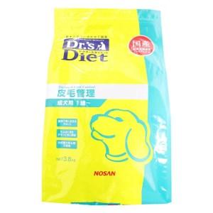 [準療法食 犬用] Dr'sDiet ドクターズダイエット 犬用 被毛管理 3.8kg