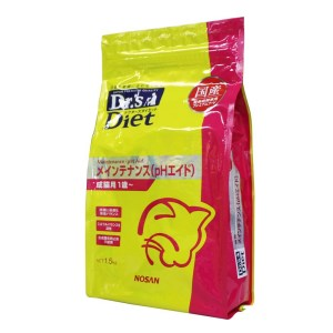 [準療法食 猫用] Dr'sDiet ドクターズダイエット 猫用 メインテナンス (PHエイド) 1.5kg