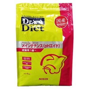 [準療法食 猫用] Dr'sDiet ドクターズダイエット 猫用 メインテナンス (PHエイド) 4kg