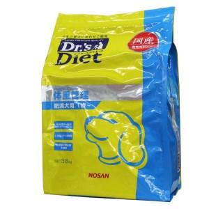 [準療法食 犬用] Dr'sDiet ドクターズダイエット 犬用 体重管理 3.8kg