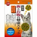 マルカン 【限定特価】歯とお腹の健康スナック ミント入りチキン味 CT-54 (猫おやつ)