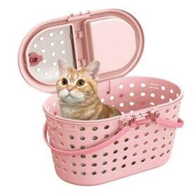 マルカン 猫ちゃん専用お出掛けキャリー キティキャリー ピンク CT-327