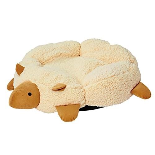 ◇ペティオ ねこあつめ ひつじクッション 猫用ベッド