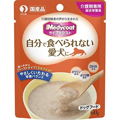 ◇ペットライン メディコート ライフアシスト ペーストタイプ ミルク仕立て 60g