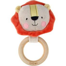 ▽プラッツ GiGwi(ギグウィ) スッパプッパ リング ライオン