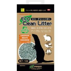 ◇三晃商会 SANKO フェレット等 小動物用紙製トイレ砂 エコ・クリーンリター 10L