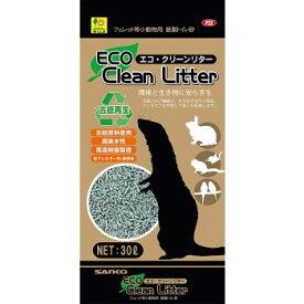 ◇三晃商会 SANKO フェレット等小動物用 紙製トイレ砂 エコ・クリーンリター 30L