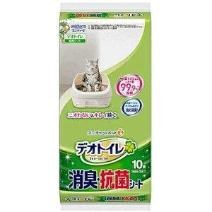 ◇ユニチャーム 1週間消臭・抗菌デオトイレ 消臭シート 10枚