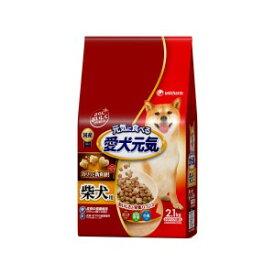 ◇ユニチャーム 愛犬元気 柴犬用 ビーフ・緑黄色野菜・小魚入り 2.1kg