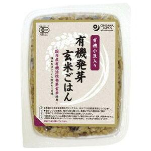 【お買上特典】有機小豆入り発芽玄米ごはん 160g【オーサワ】