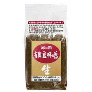 国産有機豆味噌 (1kg)【海の精】