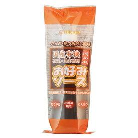 【お買上特典】お好みソース関西風・チューブ (300g)【ヒカリ】