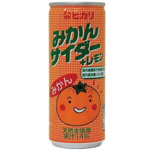 【お買上特典】みかんサイダー+レモン250ml ×30個セット ※ラッピング不可