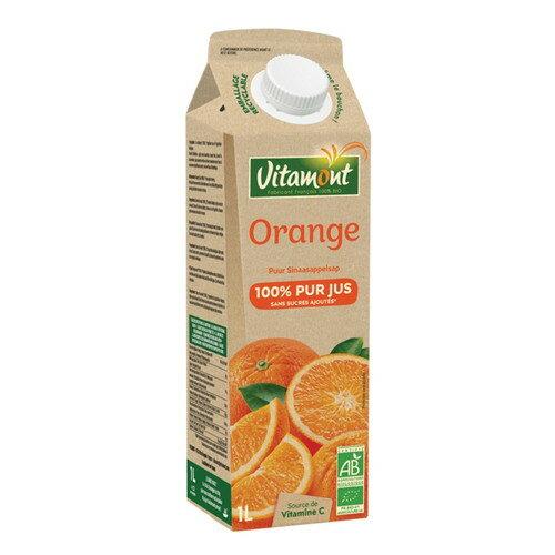 有機オレンジジュース(1Lサイズ) 1000ml 【ヴィタモント(仏)】