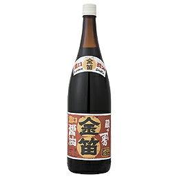 【創健社】金笛 醤油 1.8リットル【6本で20.5キロ】