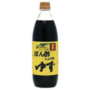 金笛 ぽん酢しょうゆ (1L)【笛木醤油】
