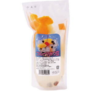 フルーツみつ豆 500g 【糀屋本店】