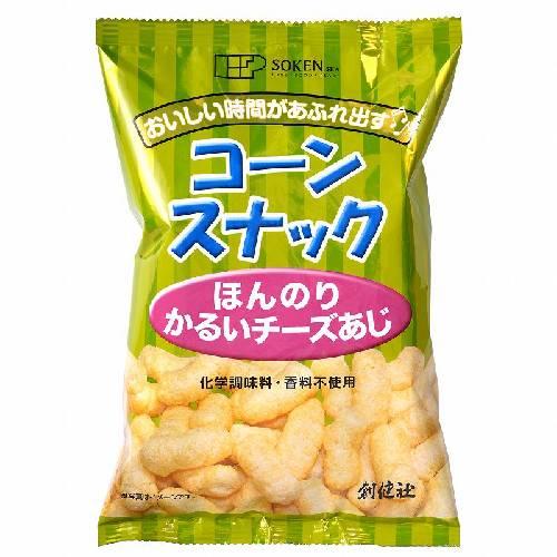 【お買上特典】コーンスナック ほんのりかるいチーズあじ (50g) 【創健社】