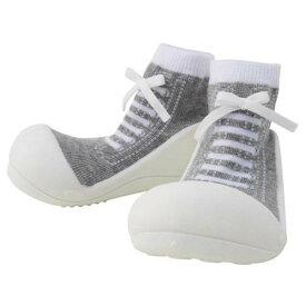 Baby feet Sneakers-Gray スニーカーズグレー (11.5cm)※送料無料(一部地域を除く)※ラッピング200円熨斗170円必要【楽ギフ_包装】【楽ギフ_のし】【ベビーシューズ】