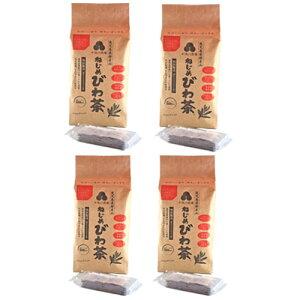 【あす楽対応】十津川農場 ねじめびわ茶300 (2gティーバック 300包入)×4箱セット【201円offクーポン付き】