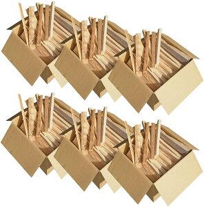 薪 針葉樹 小割【大容量330L】スギ ヒノキ 焚き付け 着火剤 焚き火 キャンプ 長さ36cm 送料無料