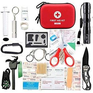 ファーストエイド キット 救急 セット ポイズンリムーバー 登山 アウトドア サバイバル 防災 救急箱 小型 コンパクトで携帯用にも便