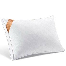 【AYO新世代】枕通気性高級ホテル仕様高反発枕横向き対応丸洗い可能立体構造43x63cm家族のプレゼントホワイト