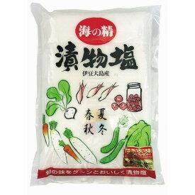 【お買上特典】海の精 漬物塩 1.5kg【海の精】