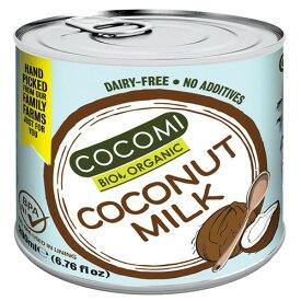 【お買上特典】ココミ オーガニックココナッツミルク 200ml【ミトク】