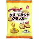 【お買上特典】クリームサンドクラッカー メープル風味  95g