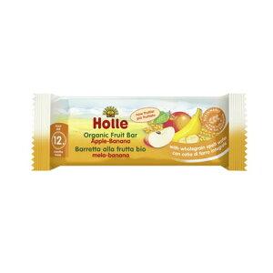 有機 フルーツバー アップル&バナナ 25g 【Holle Baby Food】