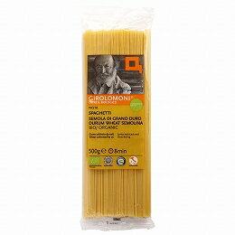 ジロロモーニ デュラム小麦 有機スパゲッティ 500g 【創健社】