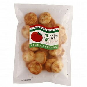 【お買上特典】ライスクラッカー トマト&パセリ (80g) 【味泉】