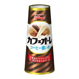 グリコ カフェオーレ コーヒー濃いめ 180ml 20本