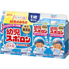 グリコ 幼児スポロン4P 6パック / ジュース パックジュース 紙パックジュース 子供 幼児用 紙パック パック 紙パックジュース 乳酸菌飲料 乳酸菌 ドリンク 飲料 飲み物 まとめ買い