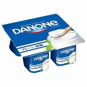 ダノン ダノンヨーグルト プレーン・加糖4P 6パック