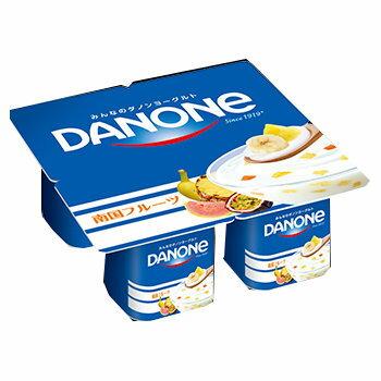 ダノン ダノンヨーグルト 南国フルーツ4P 6パック