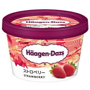 ハーゲンダッツ ミニカップ ストロベリー 6個【送料無料】北海道、沖縄、その他離島は別途送料がかかります。